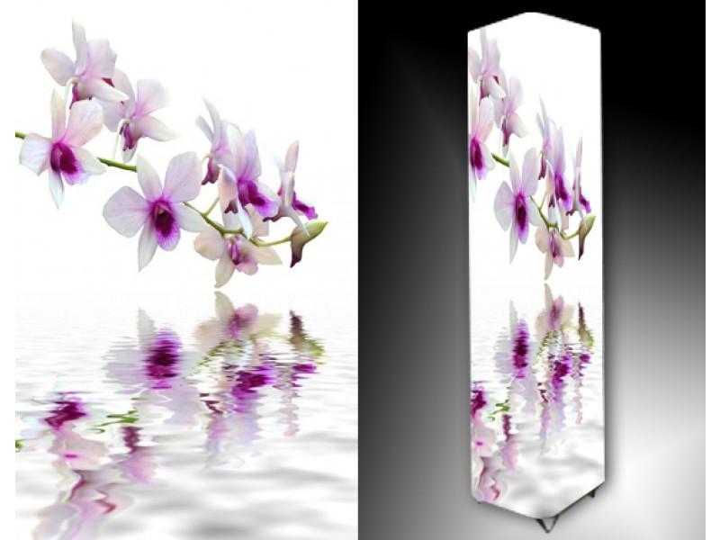 Ledlamp 780, Orchidee, Wit, Paars, Groen