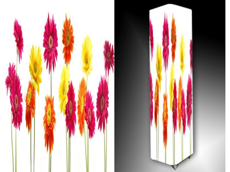 Ledlamp 782, Bloem, Roze, Oranje, Geel