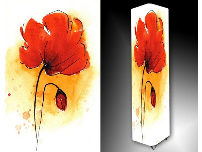 Ledlamp 791, Bloem, Rood, Oranje, Wit