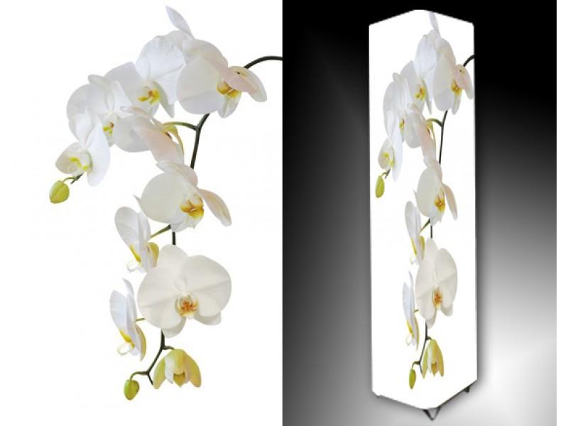 Ledlamp 798, Orchidee, Wit, Groen, Oranje