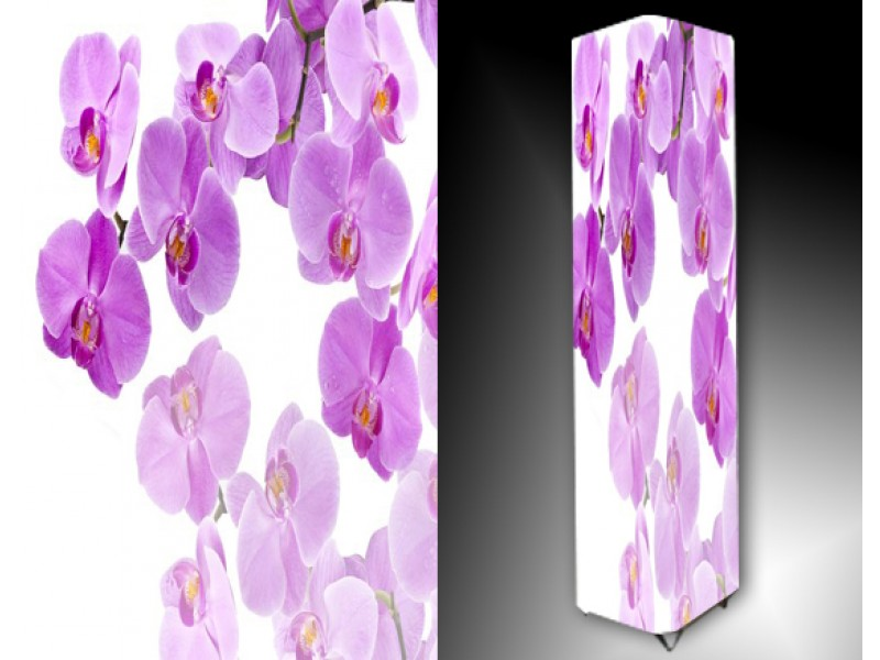 Ledlamp 809, Orchidee, Paars, Roze, Wit