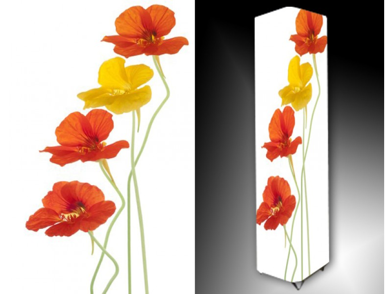 Ledlamp 810, Bloem, Wit, Geel, Oranje