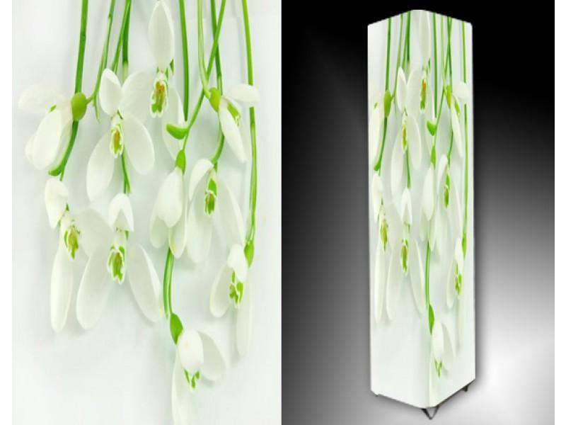 Ledlamp 816, Bloem, Groen, Wit