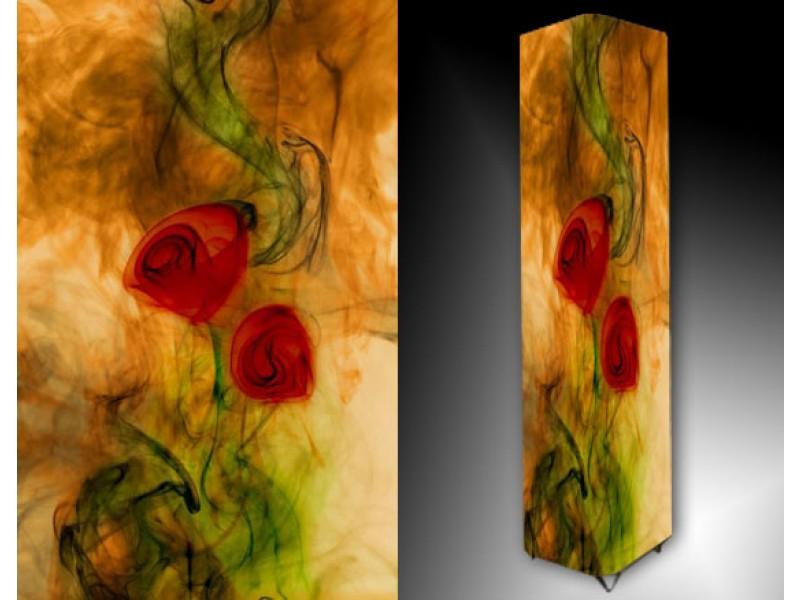 Ledlamp 868, Bloem, Rood, Groen, Oranje