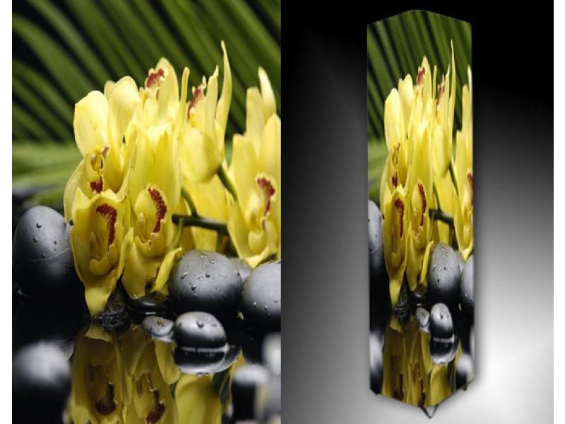 Ledlamp 869, Orchidee, Geel, Groen, Grijs