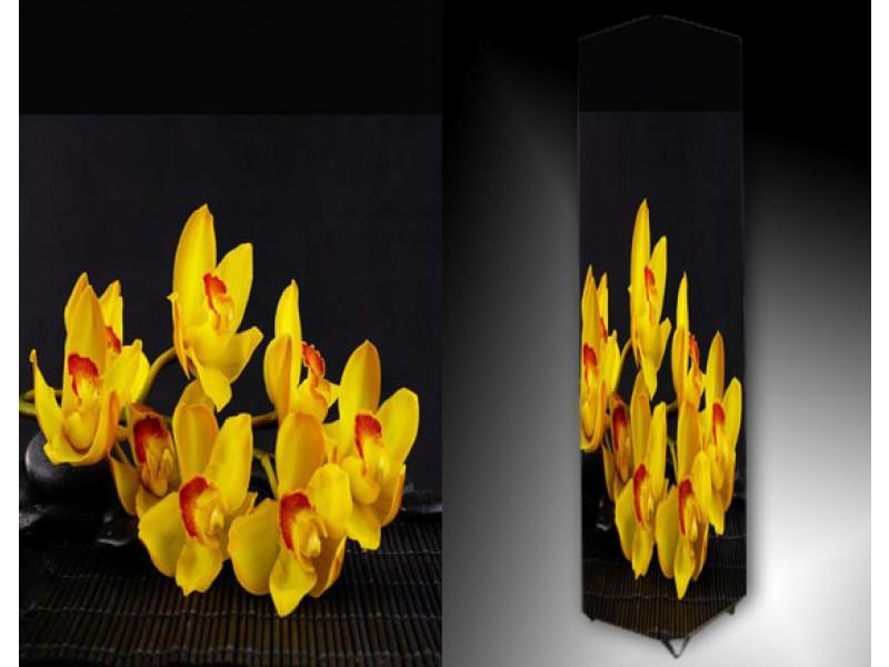 Ledlamp 870, Orchidee, Geel, Rood, Grijs