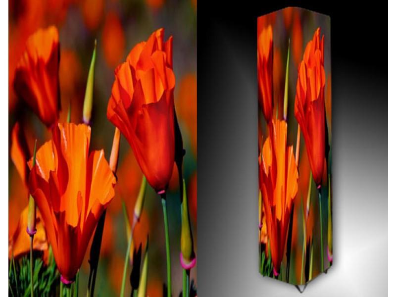 Ledlamp 878, Bloem, Rood, Oranje, Groen