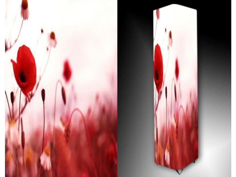 Ledlamp 921, Bloem, Rood, Roze, Wit