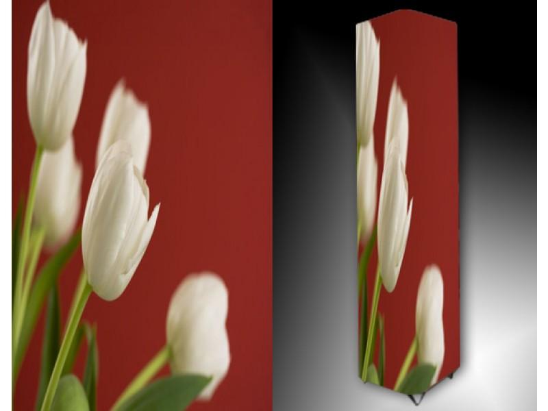 Ledlamp 923, Tulp, Rood, Wit, Groen
