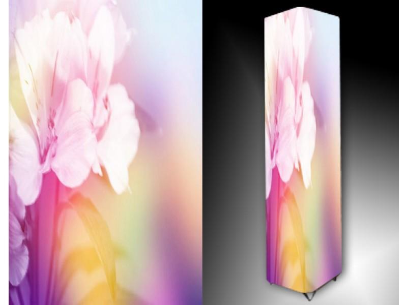 Ledlamp 953, Bloem, Roze, Paars, Wit