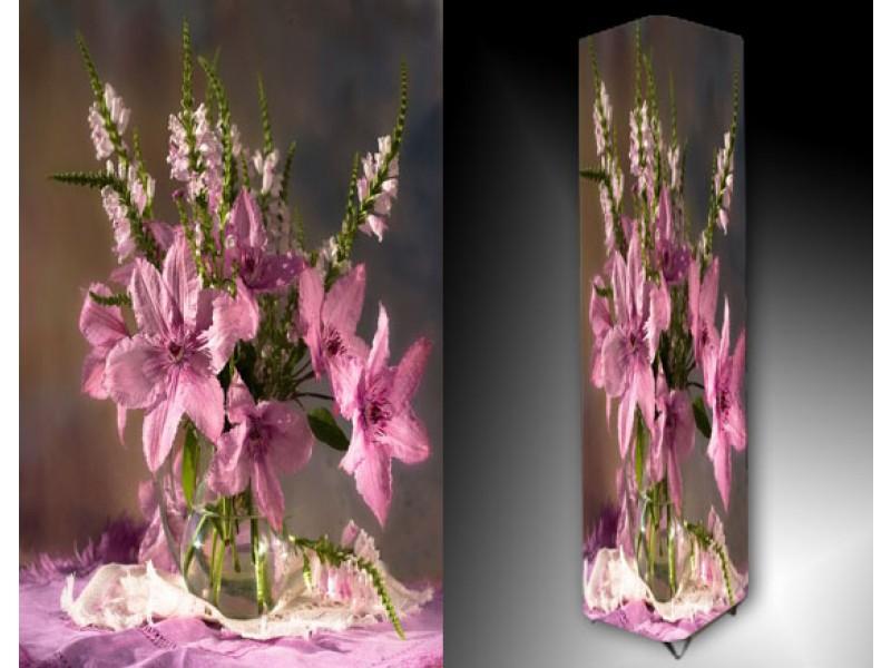 Ledlamp 960, Bloemen, Roze, Paars, Groen