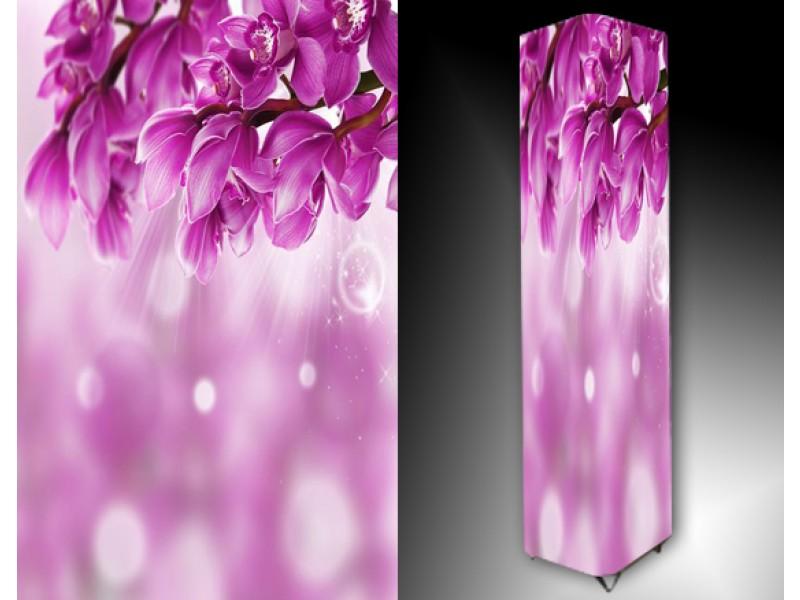 Ledlamp 974, Bloemen, Paars, Roze, Wit