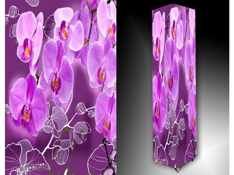 Ledlamp 985, Orchidee, Paars, Roze, Grijs