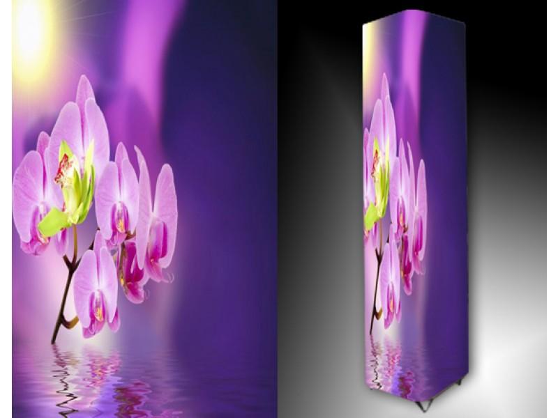 Ledlamp 991, Orchidee, Paars, Roze, Geel