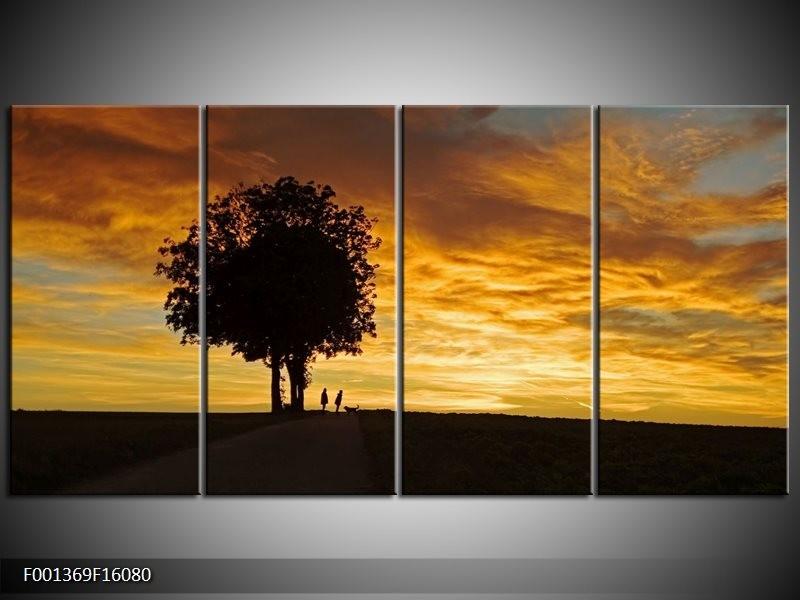 OP VOORRAAD Foto canvas schilderij Natuur | 160x80cm | F001369