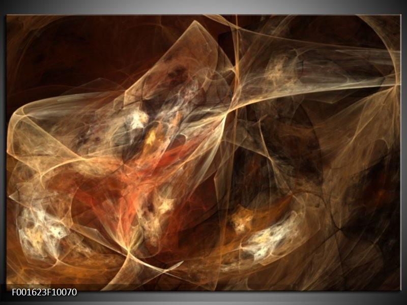 Foto canvas schilderij Dansen   Rood, Zwart