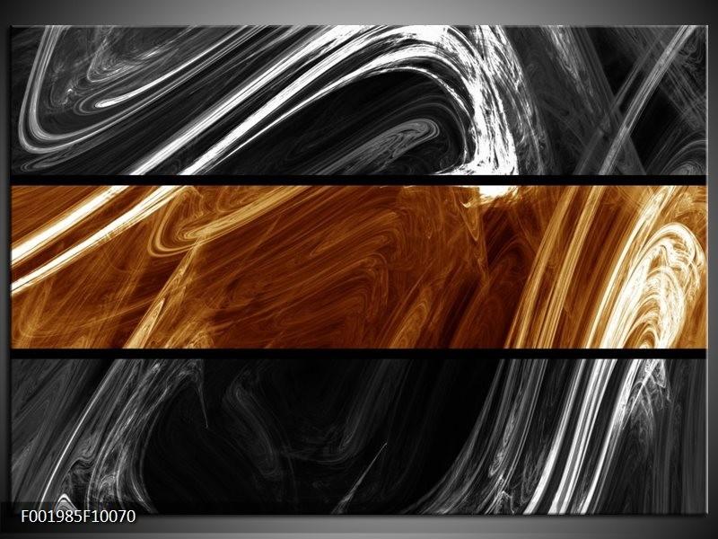 Foto canvas schilderij Abstract   Sepia, Bruin