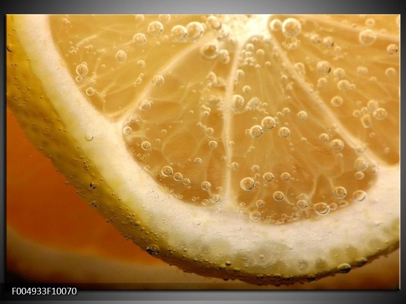 Glas schilderij Keuken | Geel, Oranje, Bruin