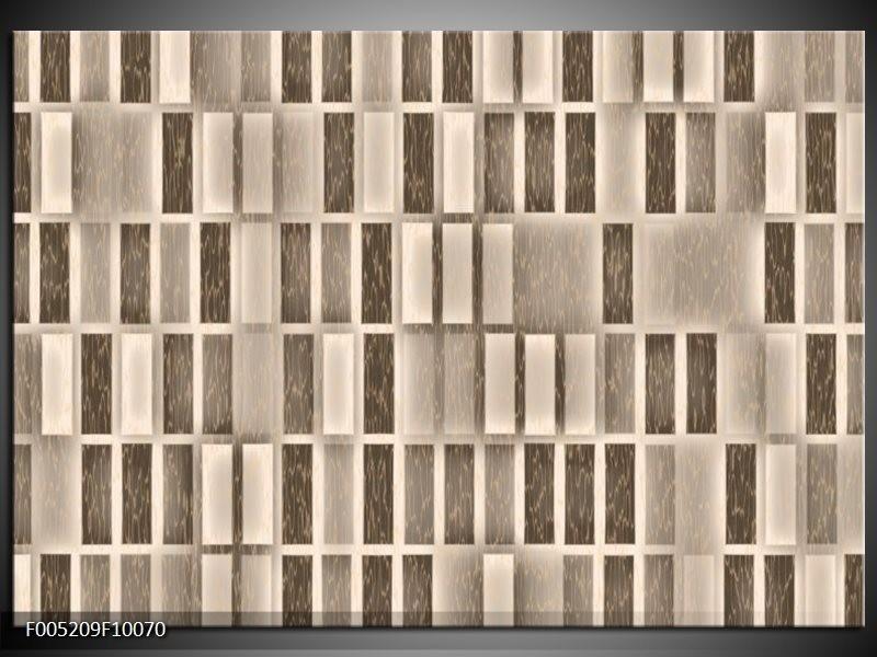 Glas schilderij Modern | Grijs