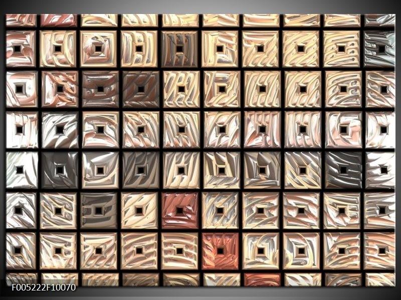 Glas schilderij Modern | Grijs, Rood, Zwart