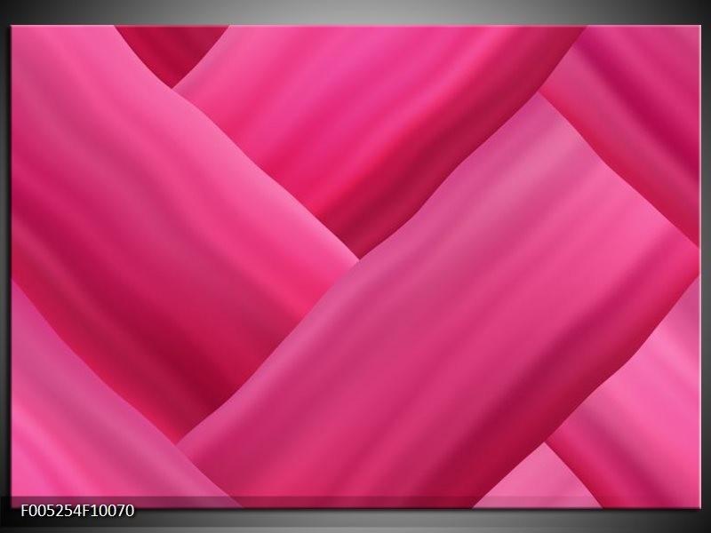 Glas schilderij Modern   Roze