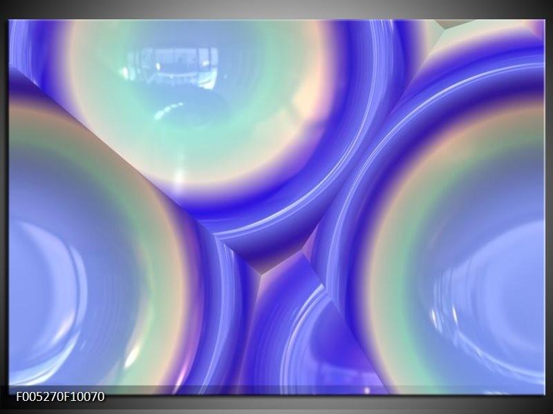 Glas schilderij Modern | Blauw, Groen