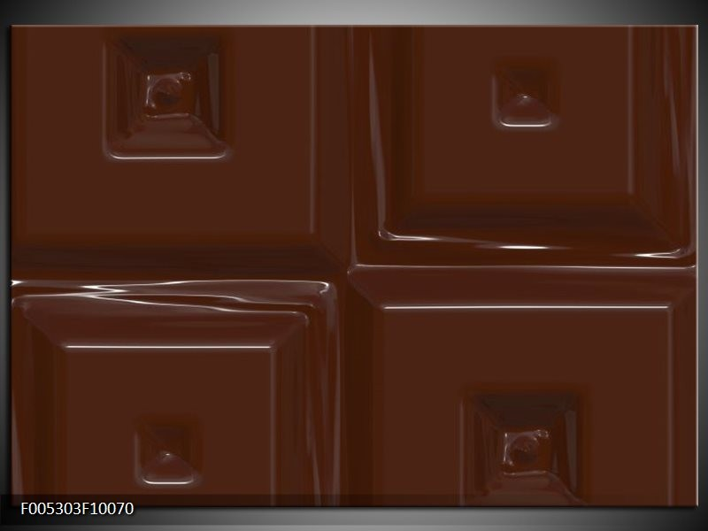 Glas schilderij Modern | Bruin