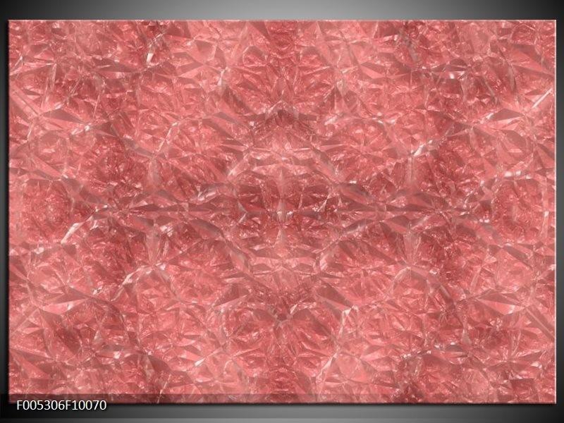 Glas schilderij Modern   Bruin