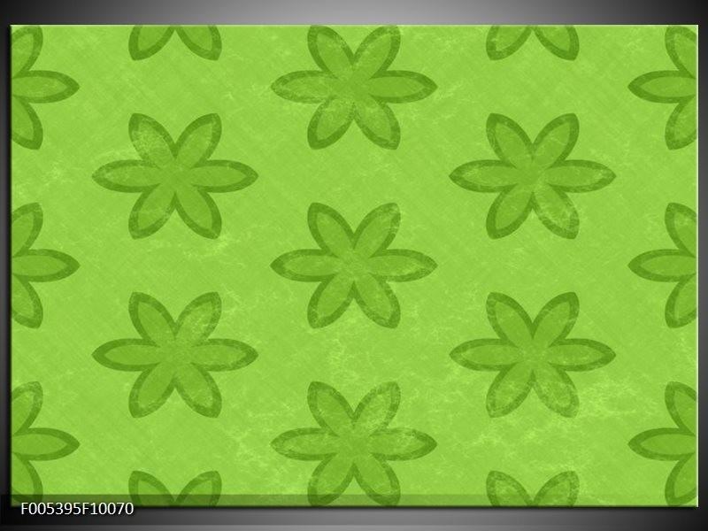Glas schilderij Modern | Groen
