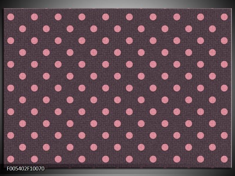 Glas schilderij Modern | Roze, Grijs