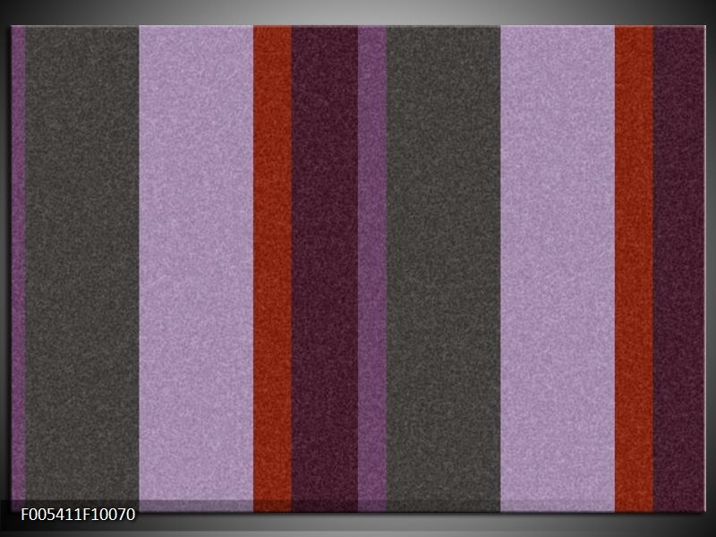Glas schilderij Modern   Grijs, Paars, Rood