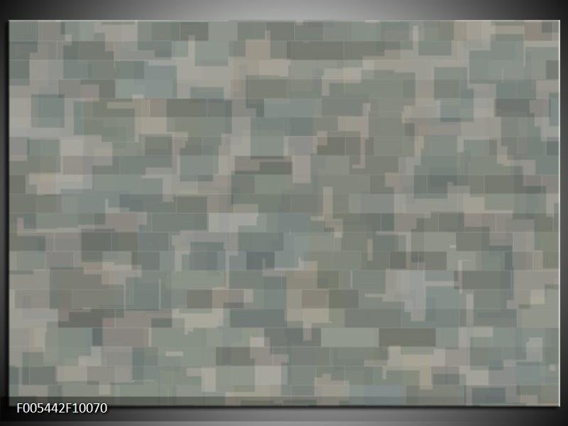Glas schilderij Abstract | Grijs