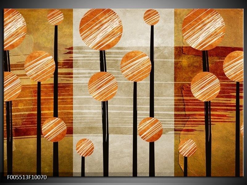 Glas schilderij Art | Bruin, Grijs