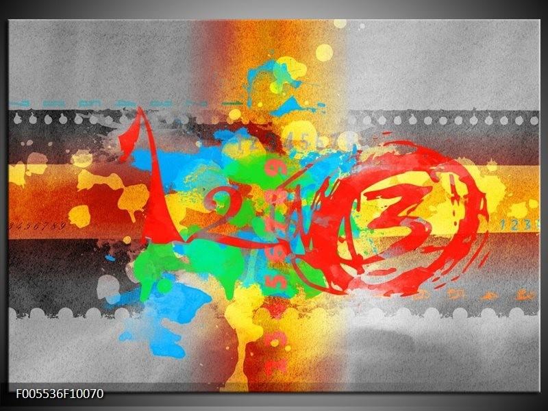 Glas schilderij Art | Blauw, Grijs, Groen