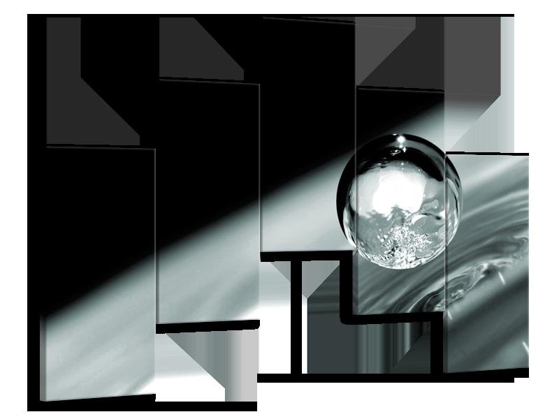 Glasschilderij Macro | Zwart, Grijs, Zilver | 75x55cm 5Luik
