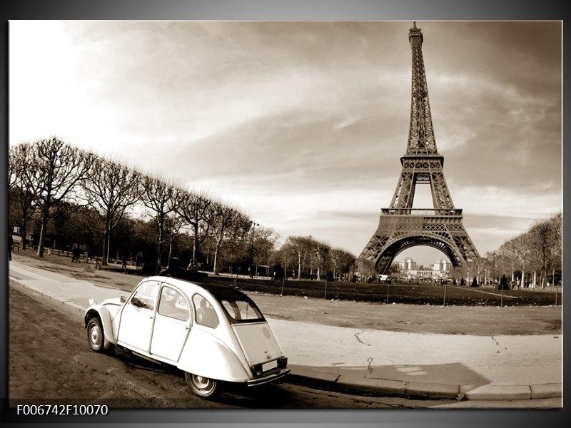 Canvas Schilderij Steden, Parijs | Sepia