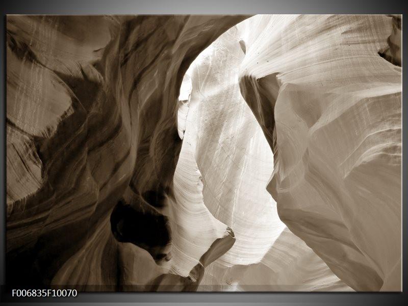 Canvas Schilderij Zand   Sepia