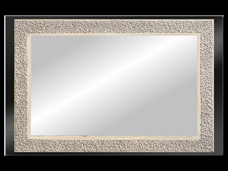 Grote spiegel met houten lijst 120x60cm. L00024
