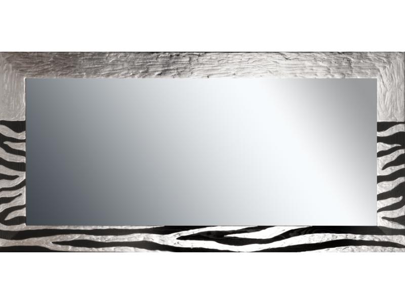 Grote spiegel met houten lijst 150x 75 cm. L48