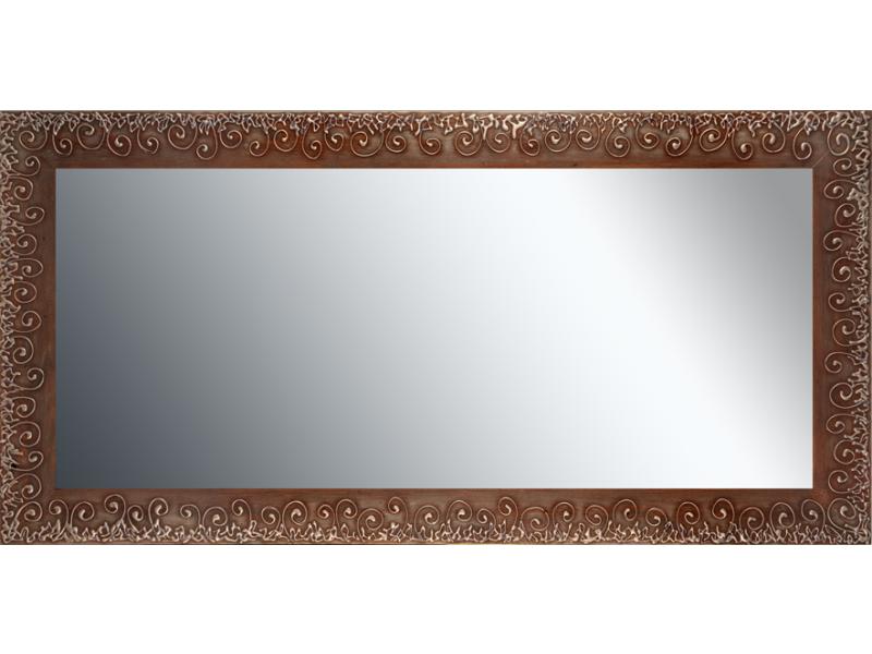 Grote spiegel met houten lijst 150x 75 cm. L00050R150x75cm