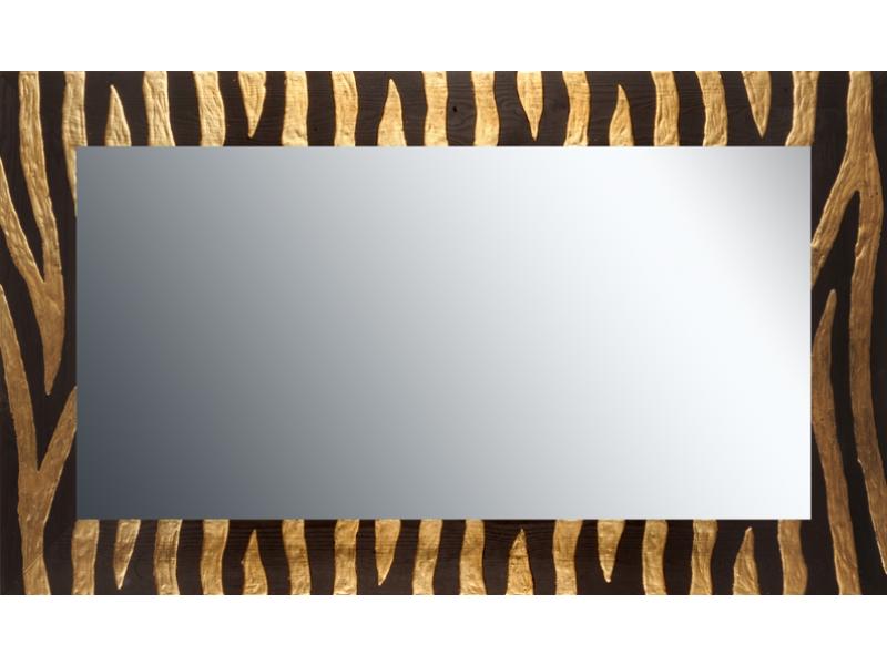 Grote spiegel met houten lijst 120x70cm. L00055R120x70cm