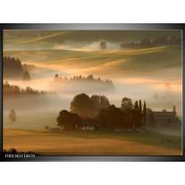 Foto canvas schilderij Natuur | Bruin, Grijs