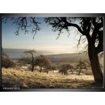 Foto canvas schilderij Natuur   Blauw, Grijs, Wit