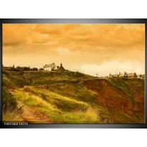 Foto canvas schilderij Natuur | Groen, Grijs, Creme