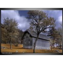 Foto canvas schilderij Natuur | Grijs, Blauw, Wit