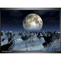 Glas schilderij Natuur | Wit, Grijs, Zwart