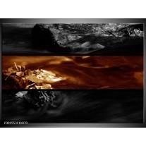 Foto canvas schilderij Natuur   Sepia, Bruin