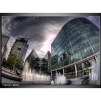 Foto canvas schilderij Engeland | Grijs, Wit