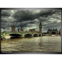 Foto canvas schilderij Engeland   Grijs, Wit