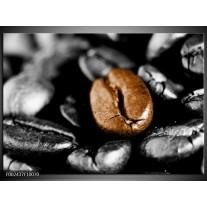 Foto canvas schilderij Koffie   Bruin, Zwart, Grijs